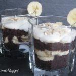 Deser czekoladowo – bananowy