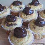 Muffiny cytrynowe z nutellą