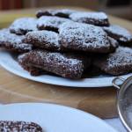 Ciastka czekoladowo – bananowe