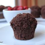 Muffiny jak kopczyki kreta – z poziomkami