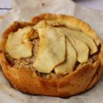 Tarta migdałowa z jabłkiem