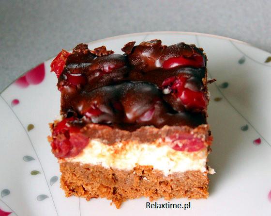 Ciasto czekoladowe z kremem z kaszy manny (3)