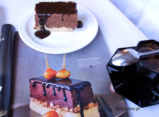 Torcik orzechowo-czekoladowy: przepis z magazynu Lust auf Genuss