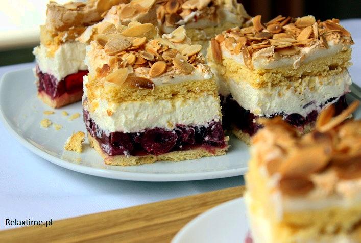 Ciasto kruche + beza + galaretka+ masa śmietanowa = połączenie idealne