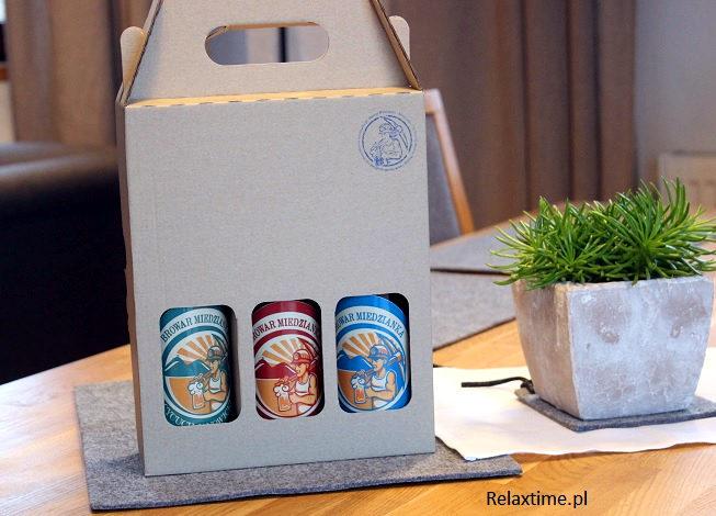Zestaw piw w kartonie