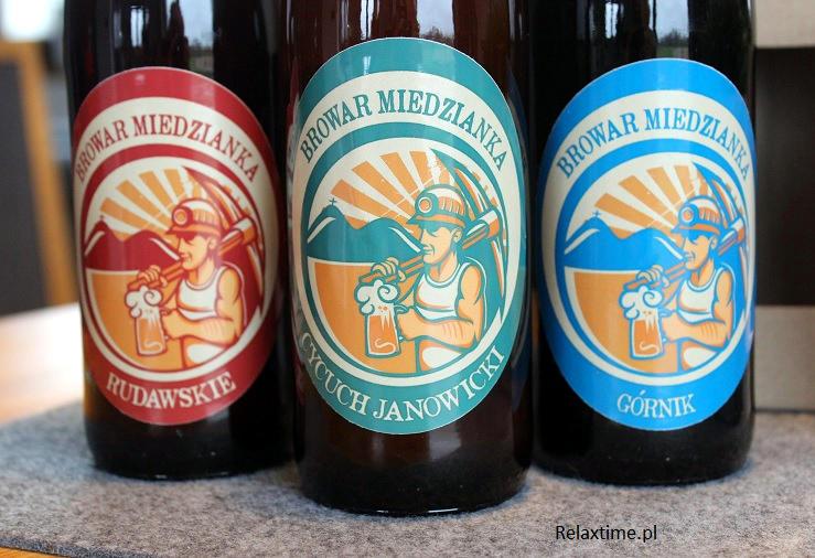 Piwa wytwarzane w browarze