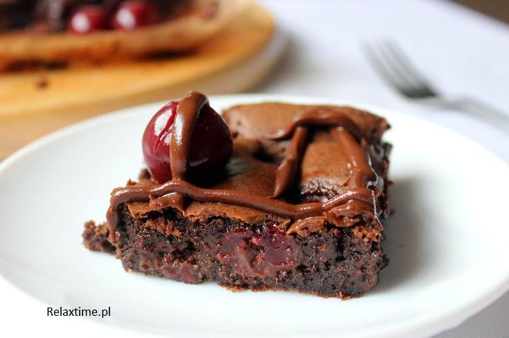 Brownie z wiśniami - szybko, łatwo i pysznie
