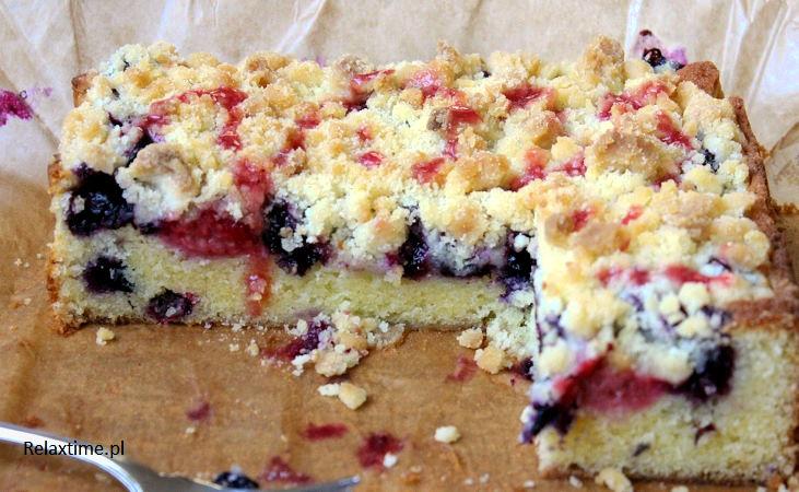 Ciasto ucierane z kruszonką - przysmak mojego dzieciństwa