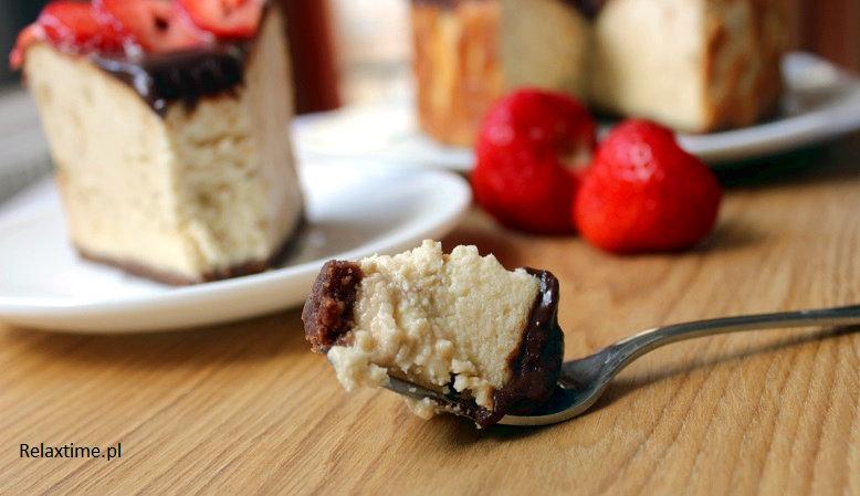 Sernik - ciasto idealne na niedziele
