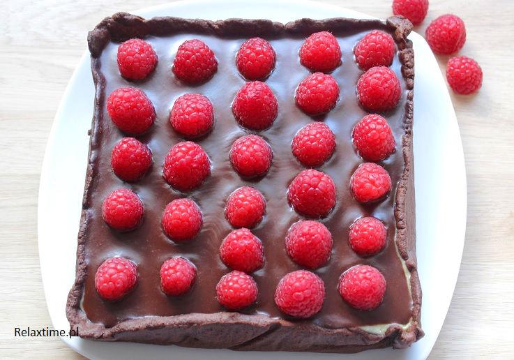 Maliny i czekolada - świetne połączenie smaków