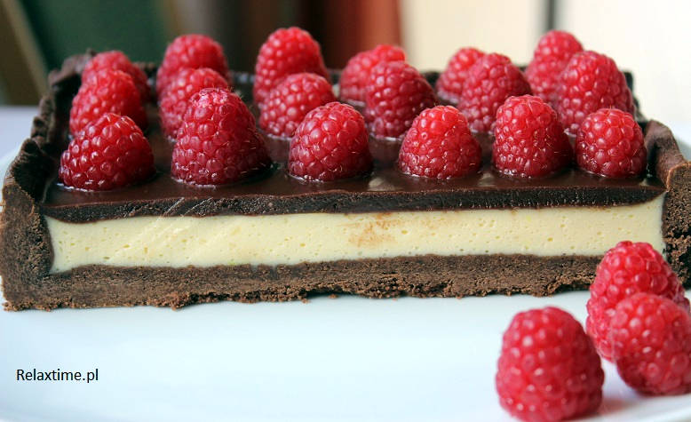 Tarta Black Red White
