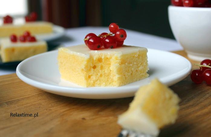 Brownie cytrynowe - ciasto na każdą porę roku