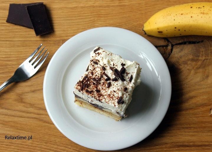Banany i czekolada = pyszny zestaw