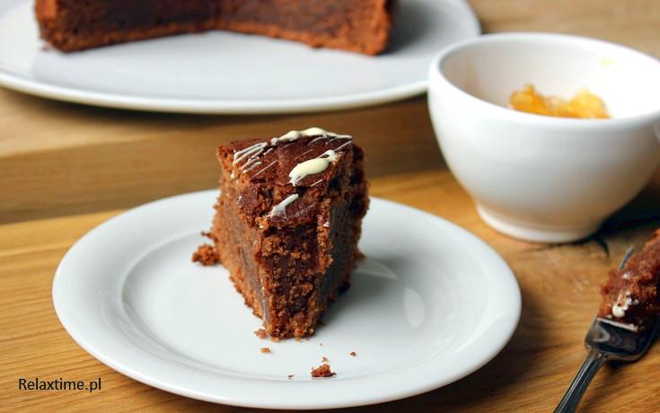 Proste i szybkie ciasto czekoladowe