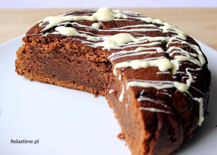 Ciasto dla wielbicieli czekolady i nie tylko :-)
