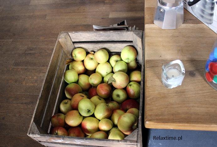 Jabłek było pod dostatkiem