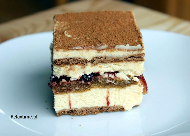 Ciasto bez pieczenia z chałwą