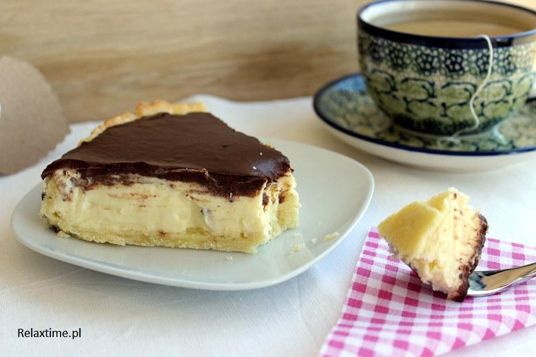 Tarta cytrynowa z czekoladą