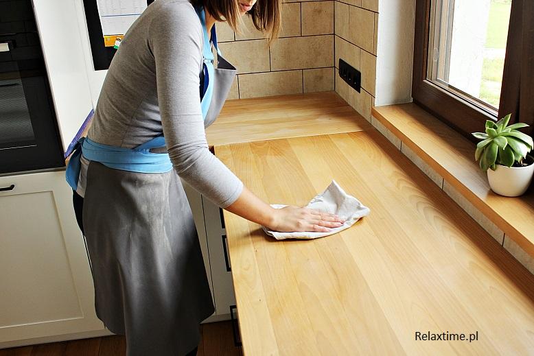 Konserwacja blatu kuchennego