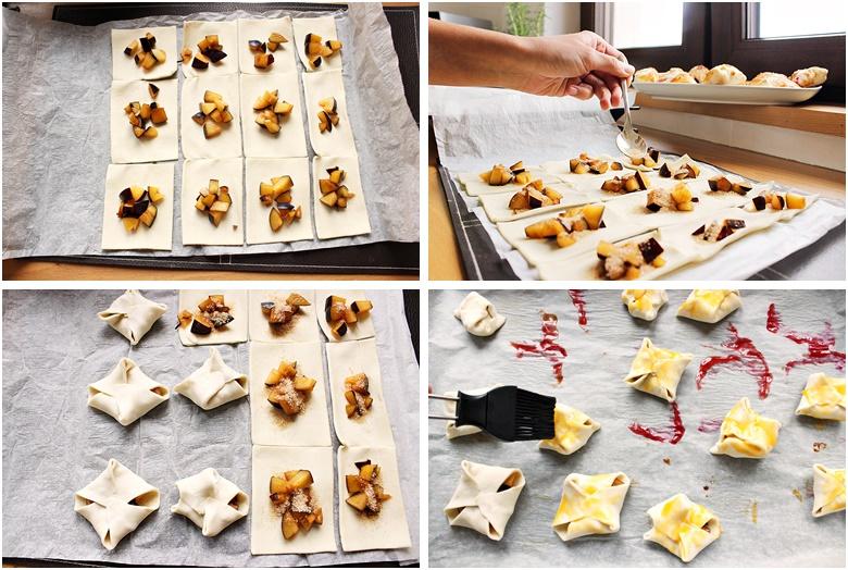 Szybkie ciasteczka ze śliwkami