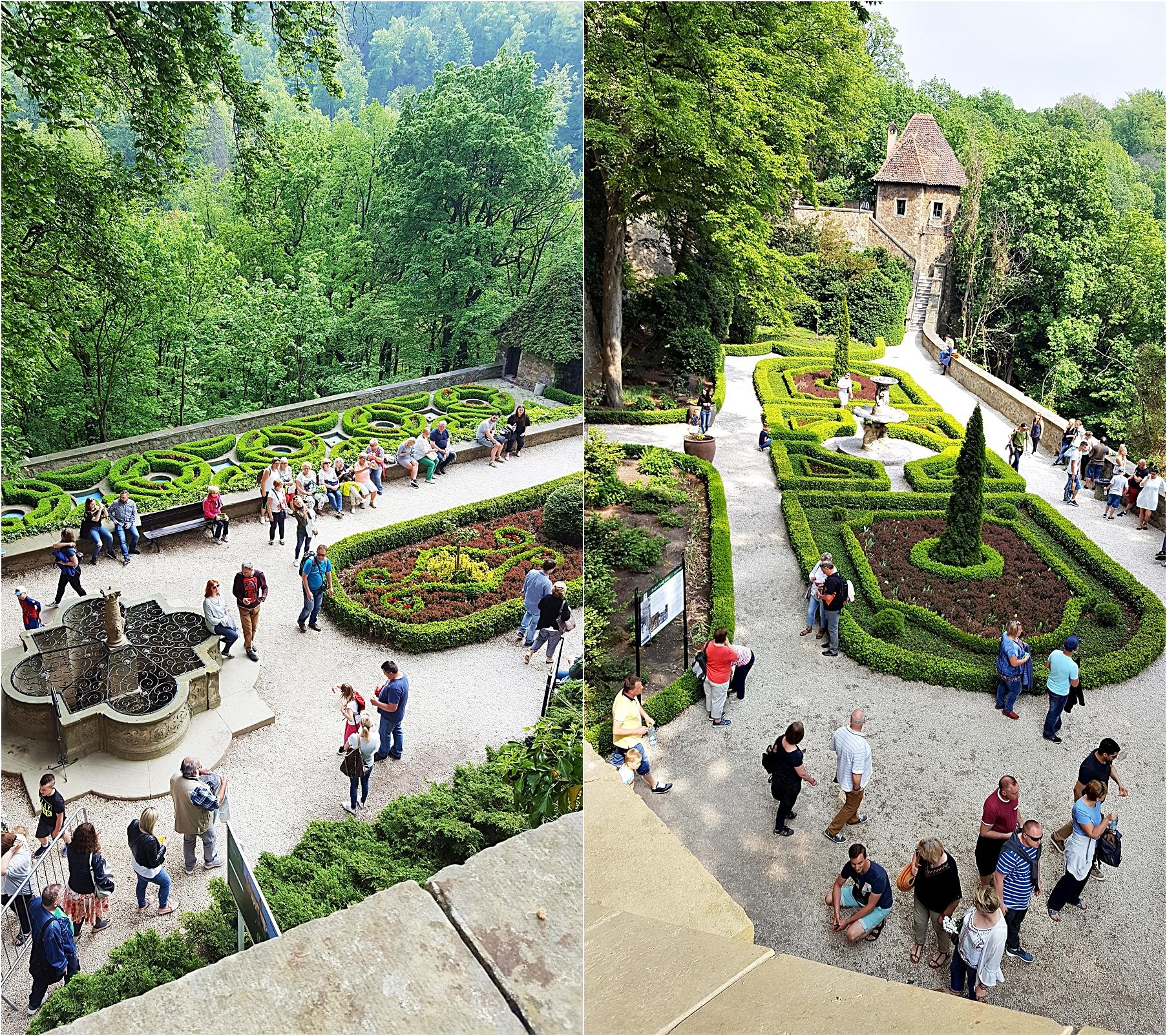 zamek książ ogrody