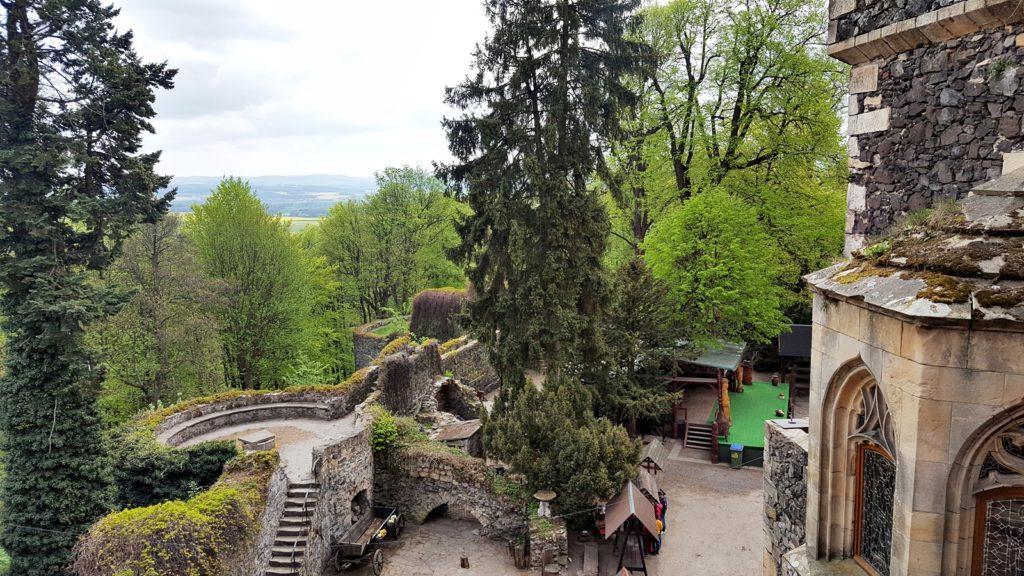 zamek grodziec zwiedzanie