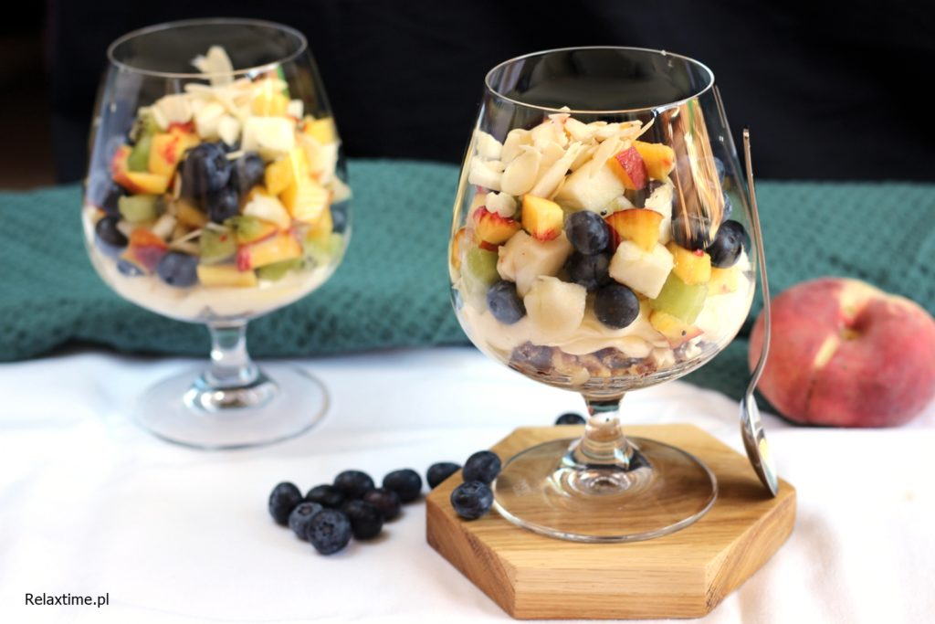deser w szklankach