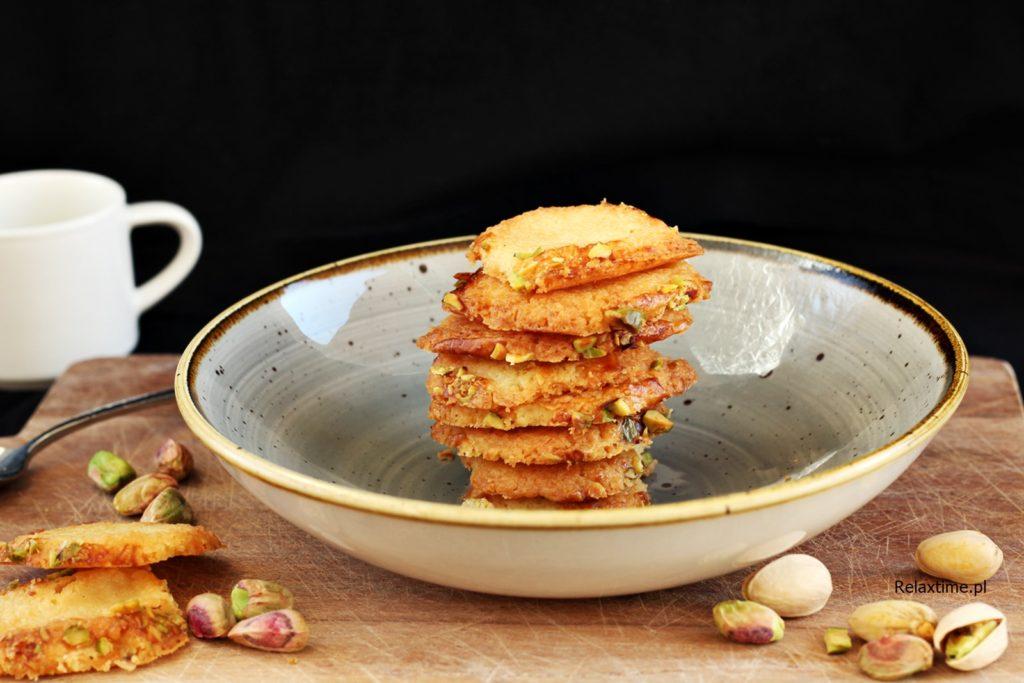marcepan i pistacje